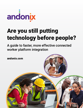 Connected Worker Platform Integration Cover